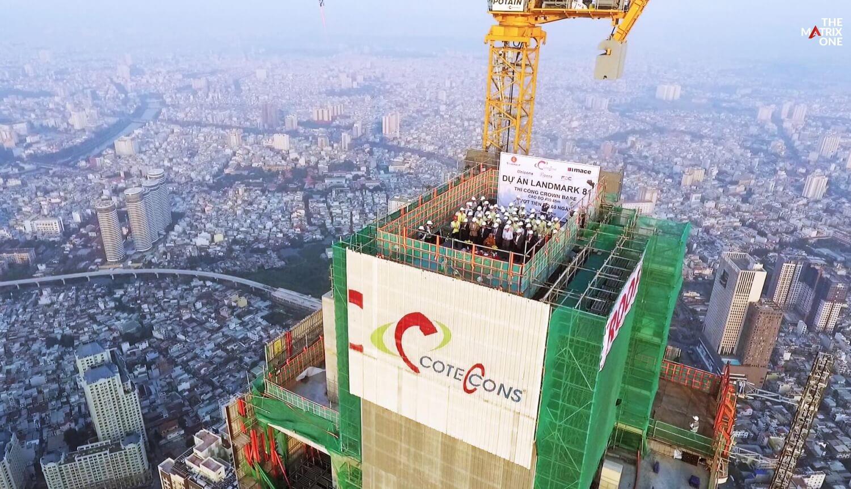 Conteccons tổng thầu xây dựng dự án The Matrix One