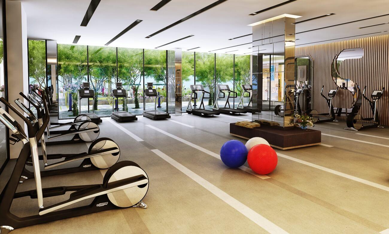 Phòng tập gym dự án The Matrix