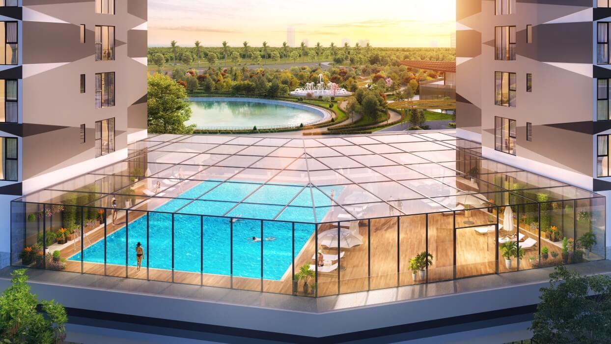 Bể bơi The Matrix One Mỹ Đình